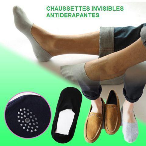 c3 a8ca01c3 f250 4f41 922d 2604cd69e1c3 Chaussettes Invisibles Antidérapantes En Silicone (Lot De 5)