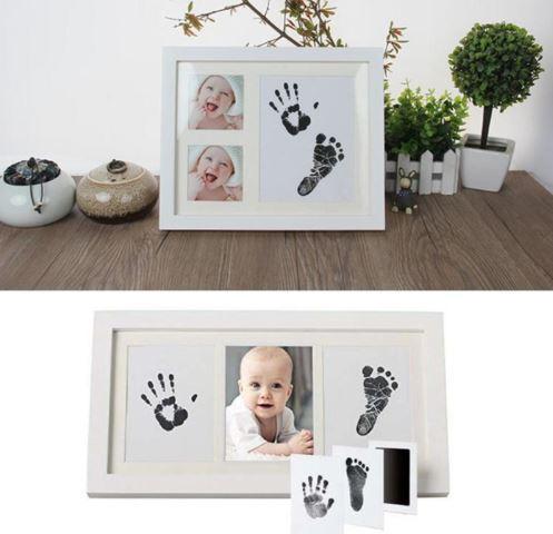 cadre photo empreinte Kit Empreinte Bébé, Une Offre Unique À Prix Pas Cher