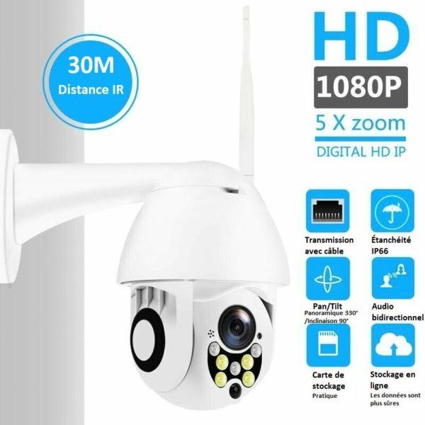 cam0 Caméra De Surveillance Wifi - Sans Fil - Camsafe™