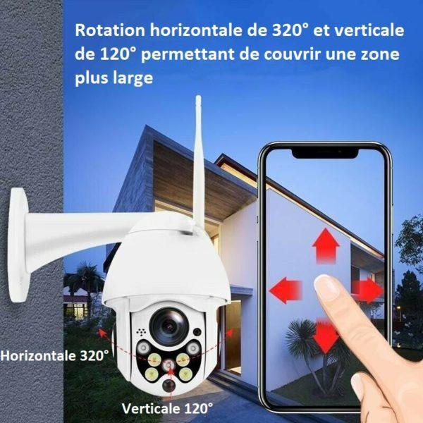 cam12 Caméra De Surveillance Wifi - Sans Fil - Camsafe™