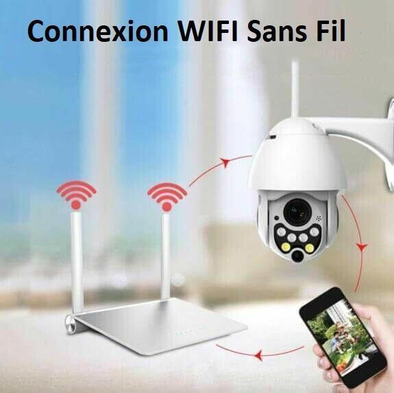 cam14 Caméra De Surveillance Wifi - Sans Fil - Camsafe™