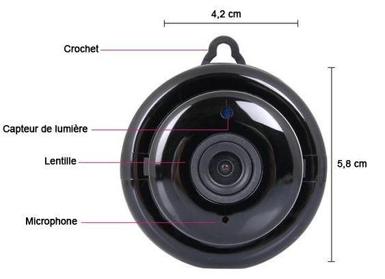 camera3 Mini Caméra Wifi Hd