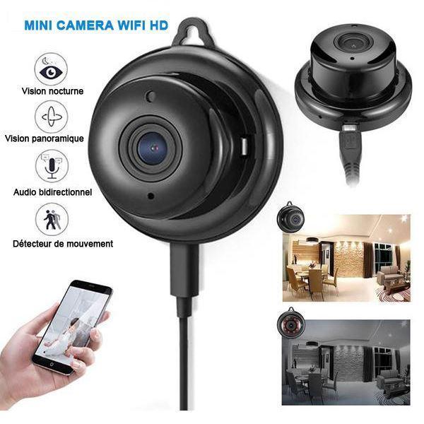 camera4 Mini Caméra Wifi Hd