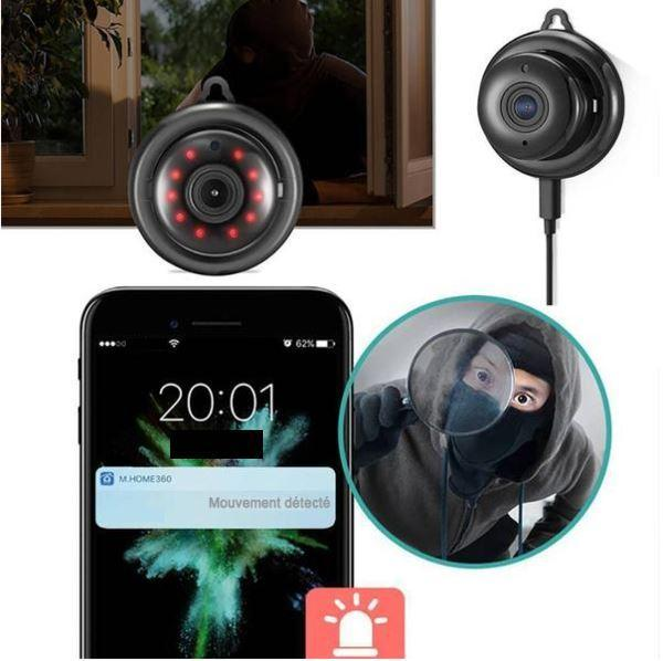 camera5 grande e79679de 5416 475c b113 d3ab130d6b08 Mini Caméra Wifi Hd