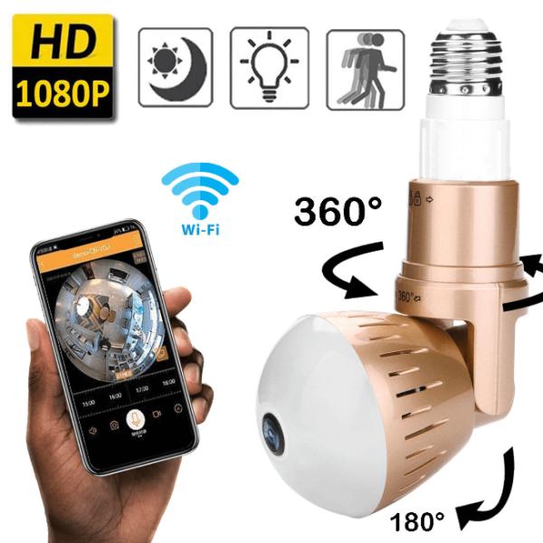 camera espion ampoule Ampoule Camera : La Sérénité À Prix Pas Cher