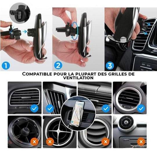 chargeur induction voiture Chargeur Induction Voiture, Le Meilleur Moyen De Recharger Son Smartphone En Voiture