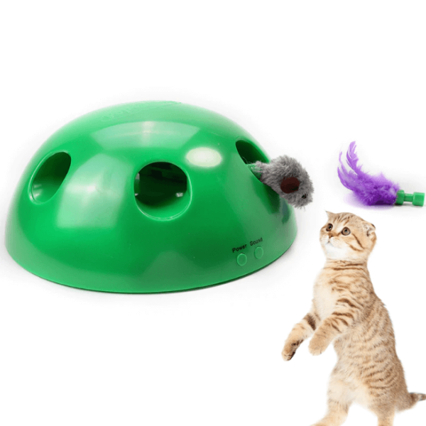 chat en peluche comme un vrai Jouet Chat Interactif, La Meilleure Façon D'occuper Votre Chat!