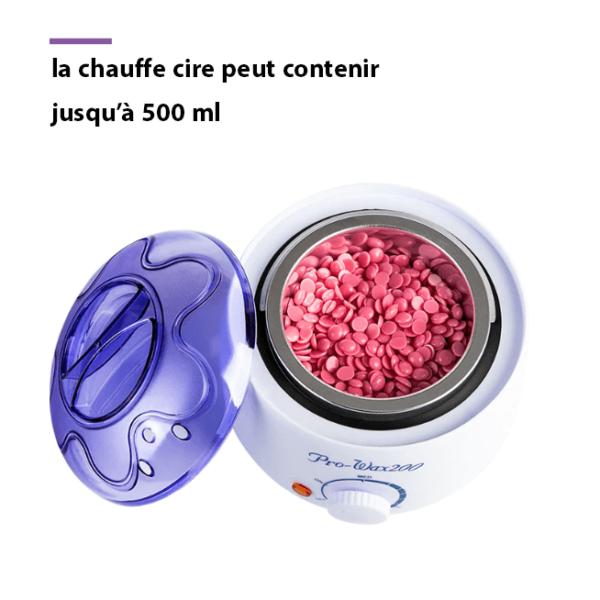chauffe cire epilation Chauffe Cire : Efficace Et Pas Cher