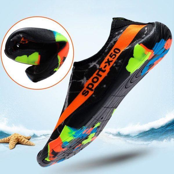 chausson de piscine Chaussure D'eau, L'option Pas Cher Pour Les Sportifs Aquatiques