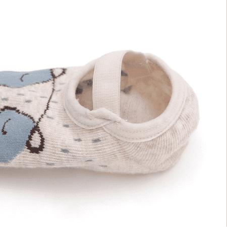 chaussoncuirbebeantiderapant Les Chaussons Antidérapants Pour Bébé