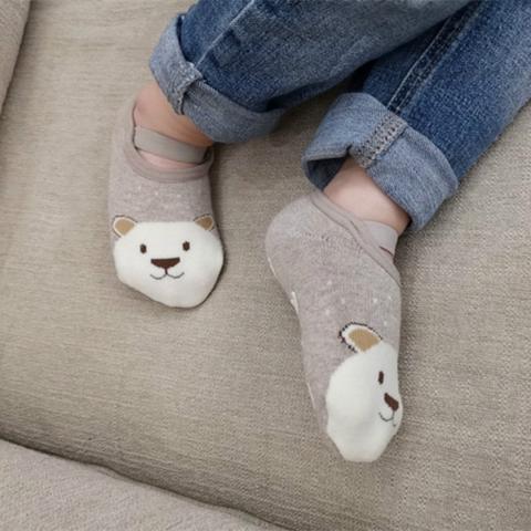 chaussonscuirsoupleavecsemelleantiderapante Les Chaussons Antidérapants Pour Bébé