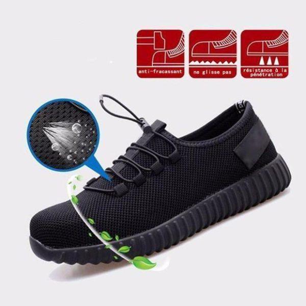 chaussure de chantier Chaussure De Sécurité, L'offre Idéale Pour Protéger Ses Pieds