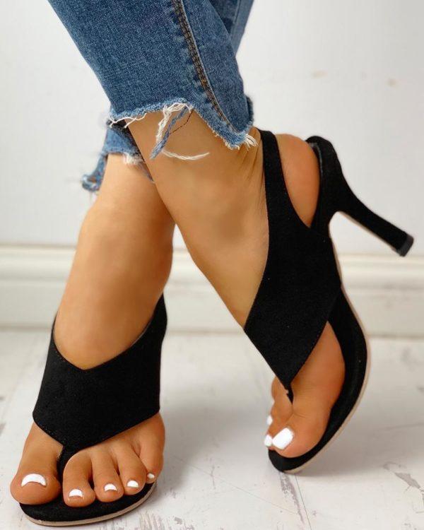chaussureatalonconfortable ed790f47 e89b 427b b6ec b8e61a18a2d5 Les Sandales À Talons Confortables Pour Femme