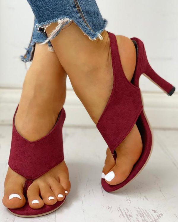 chaussurefemmeconfortabletalon d352501c 2ed1 4231 96f8 f59149cfc288 Les Sandales À Talons Confortables Pour Femme