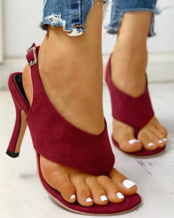 chaussurefemmetalonconfortable Les Sandales À Talons Confortables Pour Femme