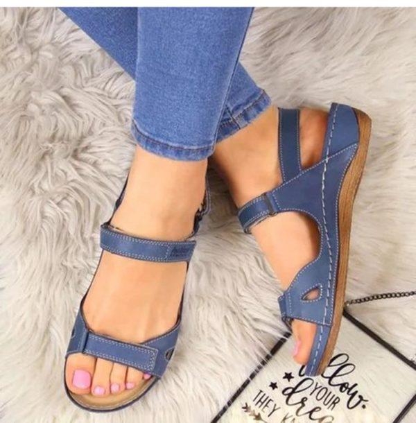 chaussureorthopediquehomme Les Sandales Orthopédiques Premium Pour Femme À Porter Durant L'été