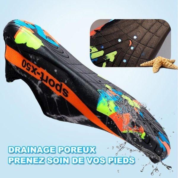 chaussures de plage Chaussure D'eau, L'option Pas Cher Pour Les Sportifs Aquatiques