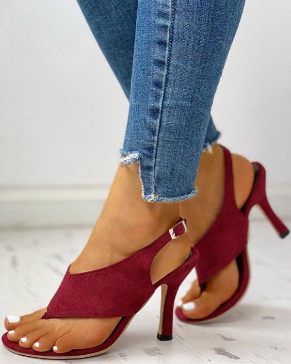 chaussuresatalonsconfortables Les Sandales À Talons Confortables Pour Femme