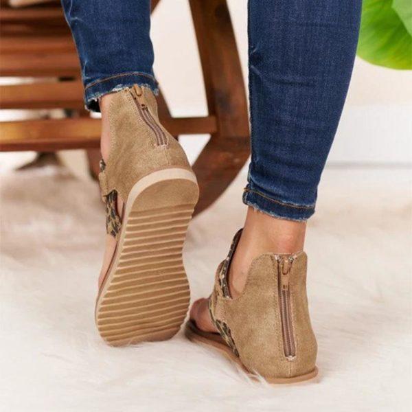 chaussuresconfort Les Sandales Confortables À Lacets Pour Femme