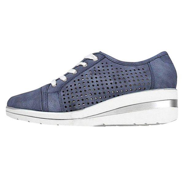 chaussuresconfortablespiedssensiblesfemme Les Baskets Confort Lace Up Confortables