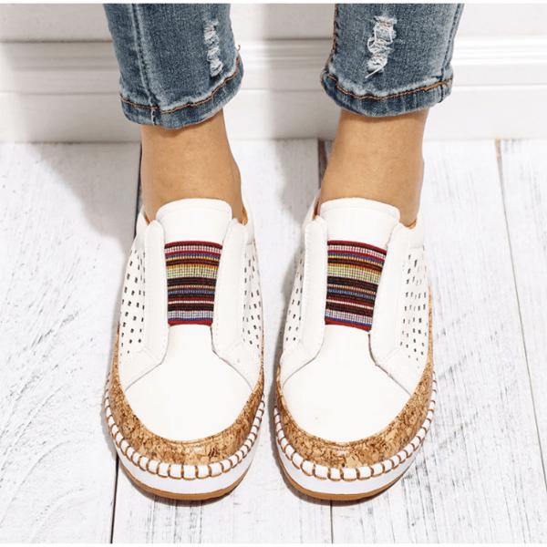 chaussuresdemarchefemmepiedssensibles La Paire De Basket Confortable Femme À Adopter