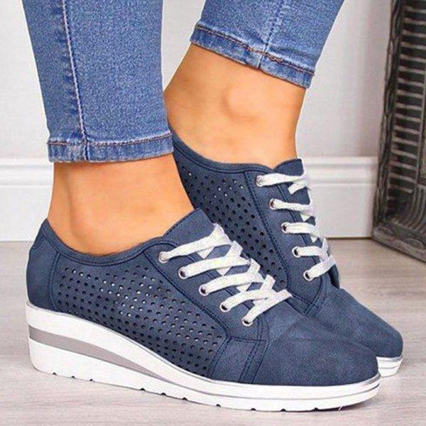 chaussuresdemarchefemmepiedssensibles 9297c02d a2f2 44dc ae0a 1940dba8b8fe Les Baskets Confort Lace Up Confortables