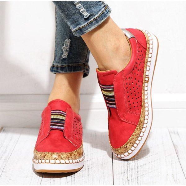 chaussureultrasouple La Paire De Basket Confortable Femme À Adopter