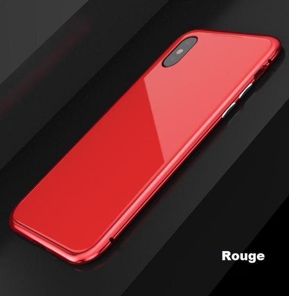 co4 Coque Magnétique De Luxe En Métal Pour Iphone