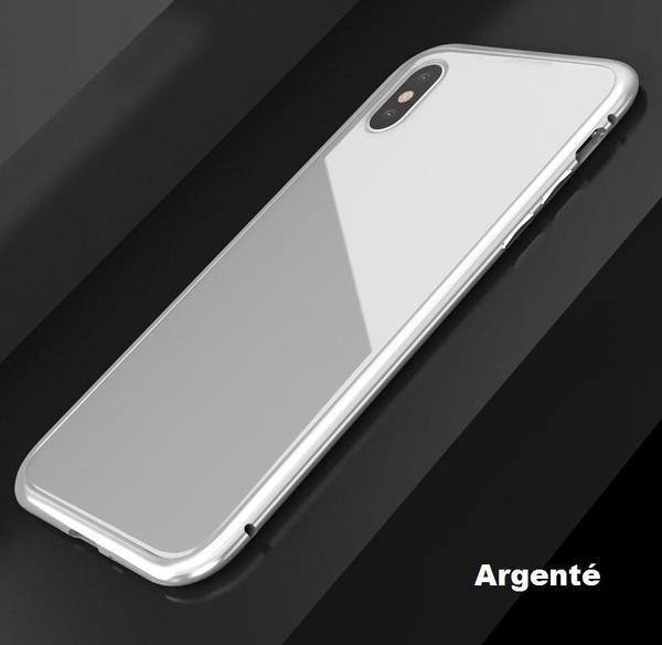 co5 Coque Magnétique De Luxe En Métal Pour Iphone
