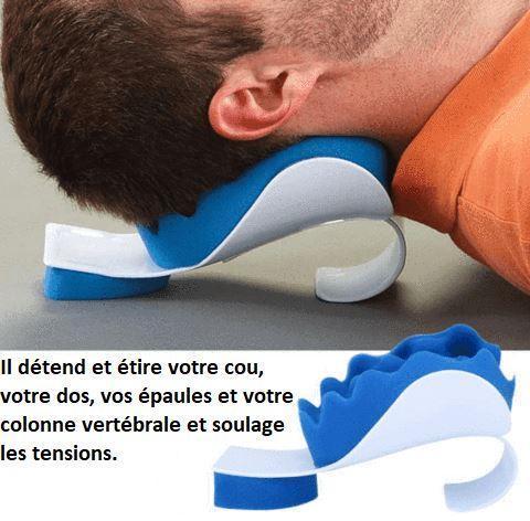 cou1 large b4c9d3c5 eb43 4589 b331 9d6688bb7b46 Oreiller Pour Soulager Les Douleurs Au Cou Et Aux Épaules Par Tensefree™