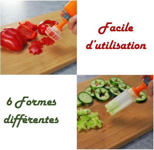 coupe montage Emporte-Pièces Fruits & Légumes