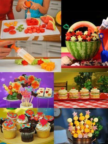 coupe6 Emporte-Pièces Fruits & Légumes