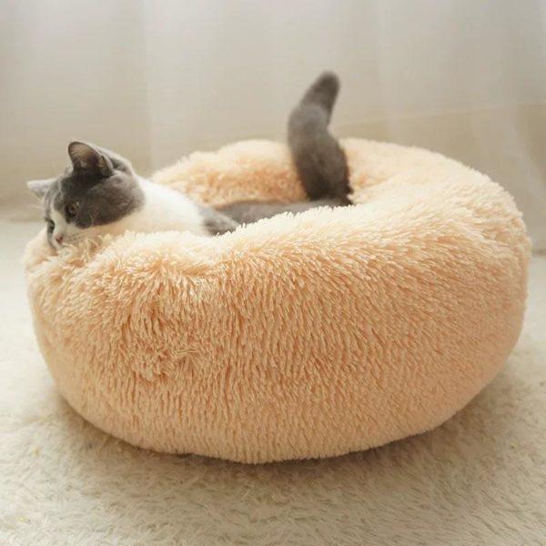 coussin apaisant chat beige 04ea1d21 6c99 48cf 9678 7f9ee103a6b9 Coussin Apaisant Ultra Doux Animal Protect® | Pour Chien Et Chat