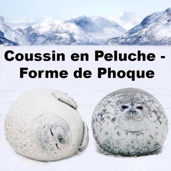 coussinphoque Coussin En Peluche - Forme De Phoque