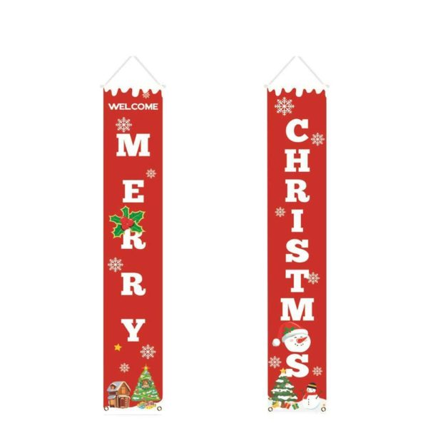 deconoelporteentree db169190 a9d7 4028 9892 c49237154234 Bannières De Noël Pour La Décoration De Votre Porche