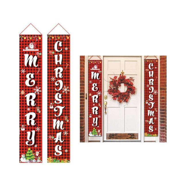 decoporteentreenoel a221dee1 3dcf 4f80 b5da 5e316adc9201 Bannières De Noël Pour La Décoration De Votre Porche
