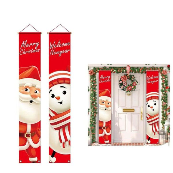 decoportenoel a96adf6a 0486 4418 bbaa b2e5e93ff942 Bannières De Noël Pour La Décoration De Votre Porche