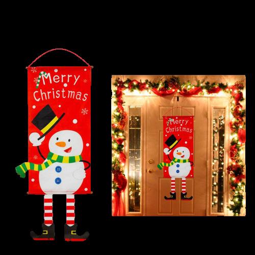decorationdenoelporteexterieur 9868ce76 144f 4b30 adba 1024b576eb5b Bannières De Noël Pour La Décoration De Votre Porche
