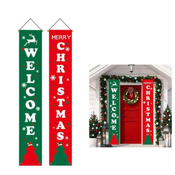 decorationdenoelpourporteexterieure eb2c9a00 7c45 4269 82ea 229dedf4d32e Bannières De Noël Pour La Décoration De Votre Porche