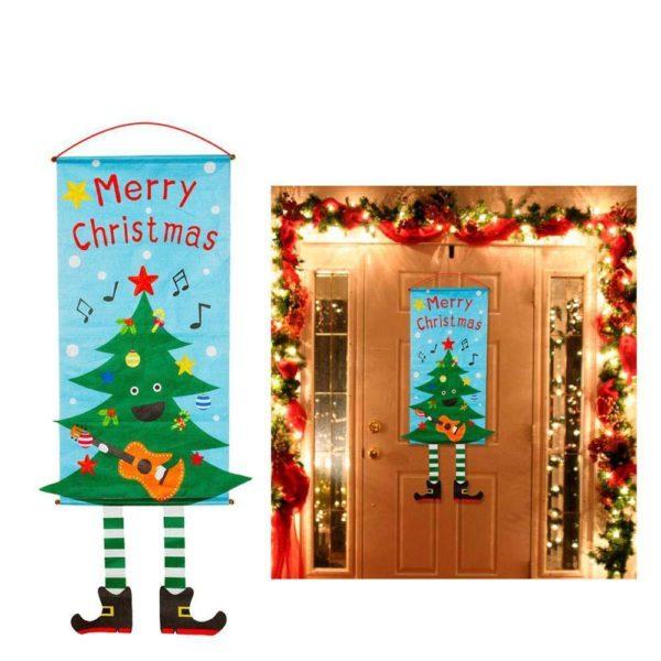 decorationdeportedenoel 005eab17 adbf 465e be03 c29d7fcaa8f5 Bannières De Noël Pour La Décoration De Votre Porche