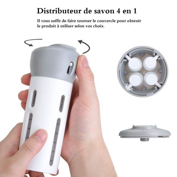 distributeur de savon amazon Distributeur De Savon 4 En 1, Le Meilleur Distributeur De Lotion Et Produits Associés