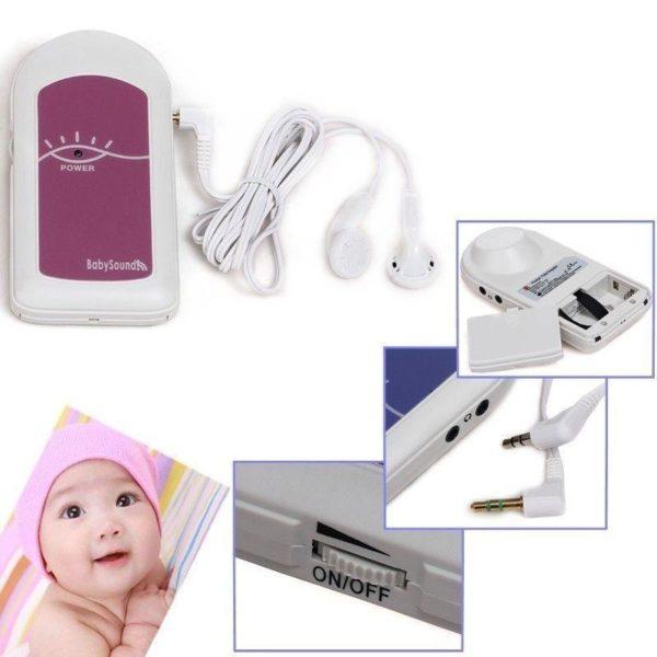 doppler foetal aubert Votre Mini Doppler Fœtal Avec Gel Et Ecouteur