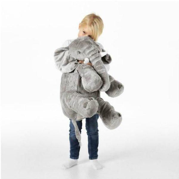 doudouelephant La Peluche Doudou Éléphant Géante Pour La Chambre De Votre Enfant