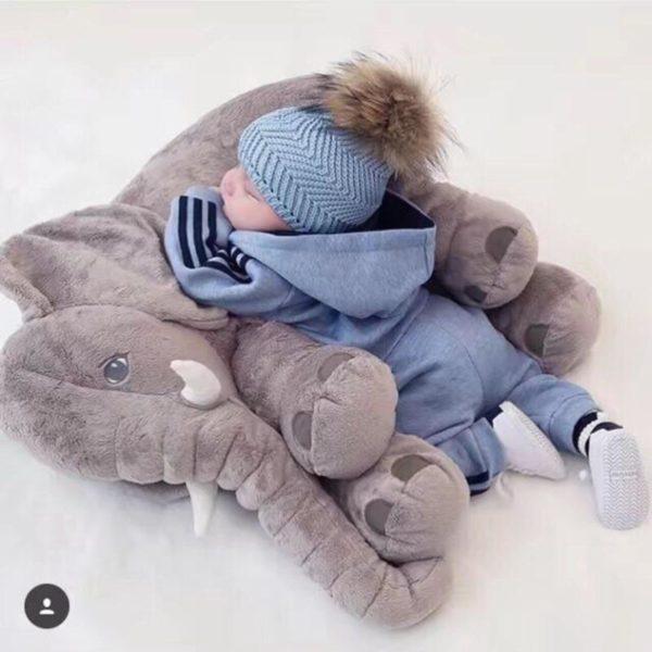 doudouelephant 965a675f 70c5 422f b6a7 12c93056a2c1 La Peluche Doudou Éléphant Géante Pour La Chambre De Votre Enfant
