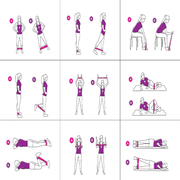 elastique sport Bande Élastique, L'offre En Ligne Selon Son Niveau De Musculation
