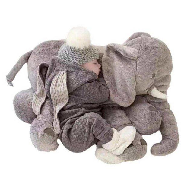 elephantpeluche La Peluche Doudou Éléphant Géante Pour La Chambre De Votre Enfant
