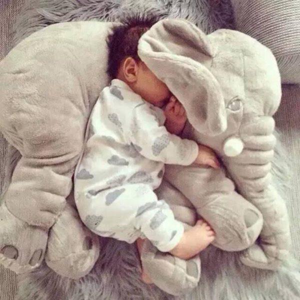 elephantpeluchebebe La Peluche Doudou Éléphant Géante Pour La Chambre De Votre Enfant