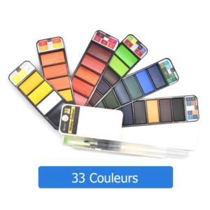 33 couleurs