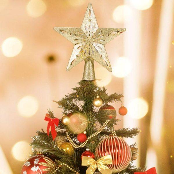etoiledesapin Etoile Sapin De Noël Avec Projecteur De Flocon