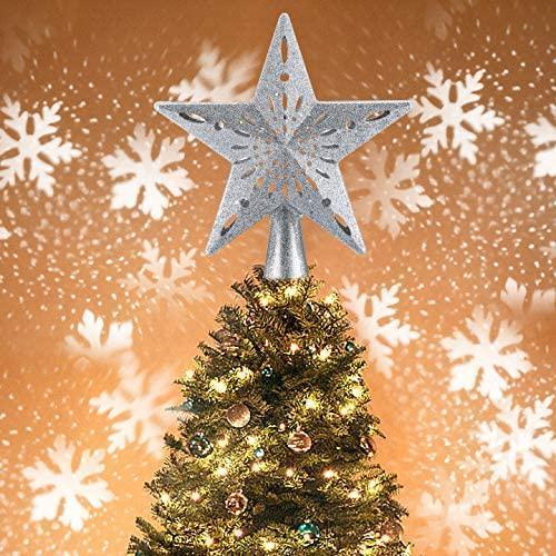 etoiledesapin 1 370abe6e de49 4138 8e77 b22536f7371a Etoile Sapin De Noël Avec Projecteur De Flocon